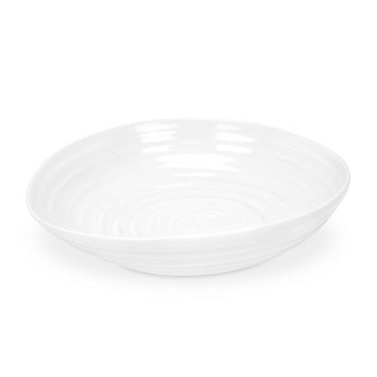 Portmeirion Sophie Conran White Pasta Bowl, Set of 4