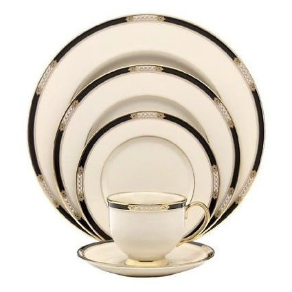 Lenox Hancock Fine China 5-Piece Place Setting, Service for 1