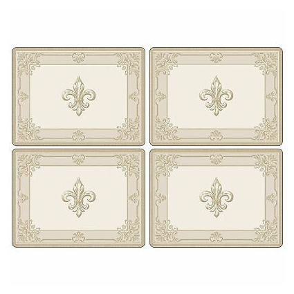 Pimpernel FDC-Fleur de Lys Placemats - Set of 4