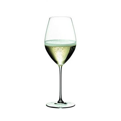 Riedel 6449/28 Veritas Champagne Glass Set of 2 Clear (Renewed)