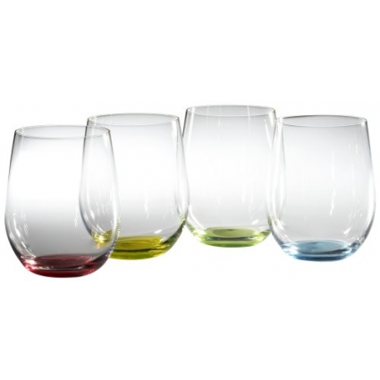 Riedel O Wine Tumbler Happy, Set of 4